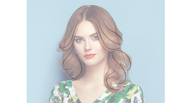 how to draw hair rhythm