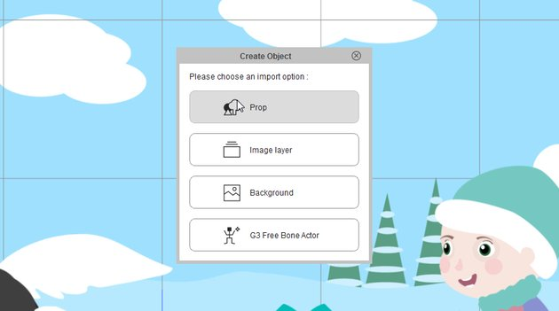 add snow layers as prop