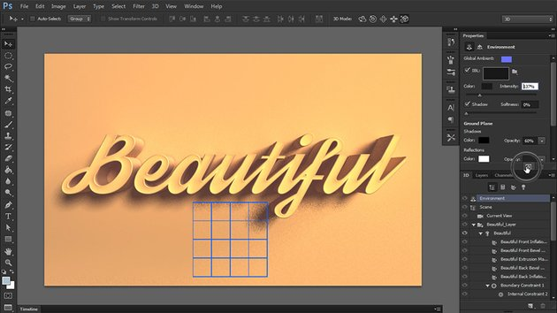 render 3d in photoshop