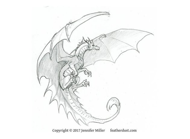 dragon drawing challenge