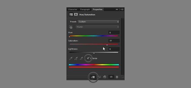 add colorize layer