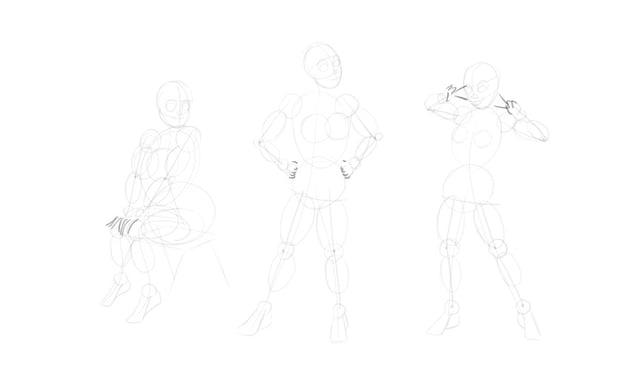 sketch hands