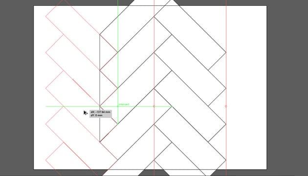 herringbone pattern illustrator