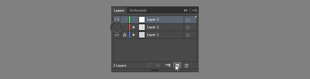 hide the layer