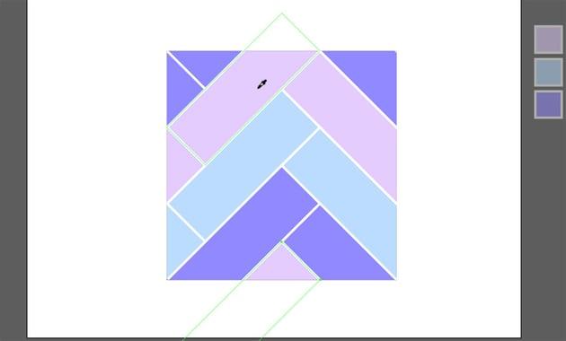 seamless pattern illustrator herringbone pattern illustrator