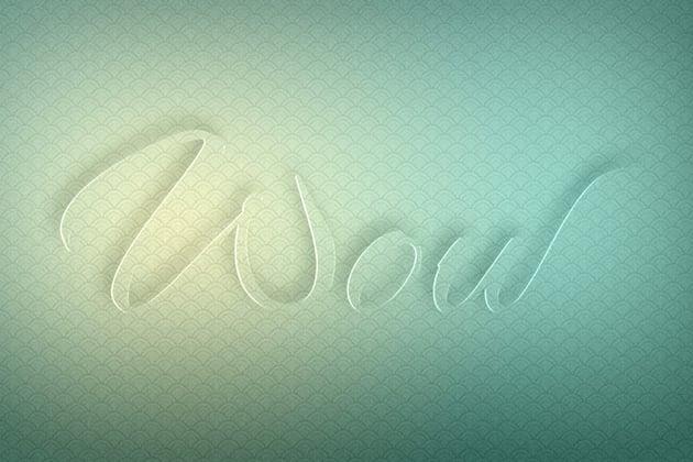 Glass Text Effect Photoshop Tutorial 3d text effect