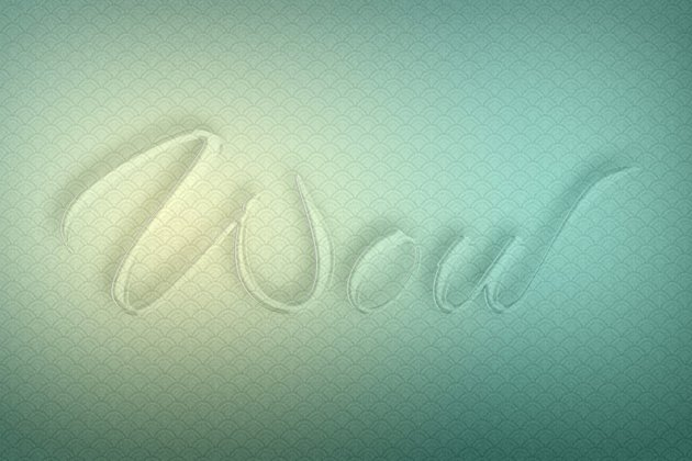 Glass Text Effect Photoshop Tutorial crystal text effect