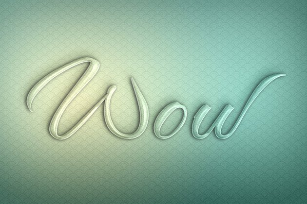 Glass Texture Photoshop Tutorial shiny letters