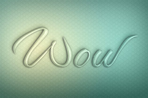 create glass text effect photoshop