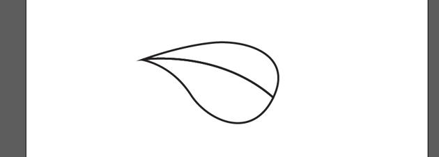 finish leaf shape