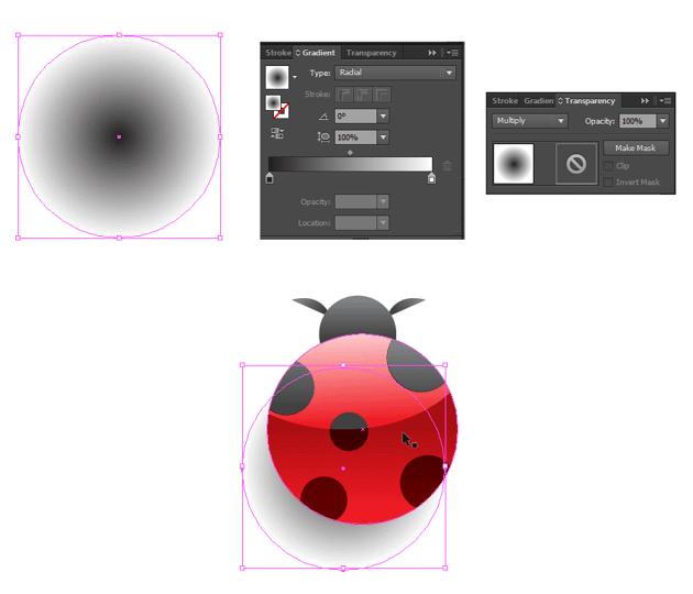 create vector shadow