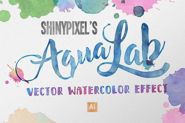 Vector Watercolor Effect