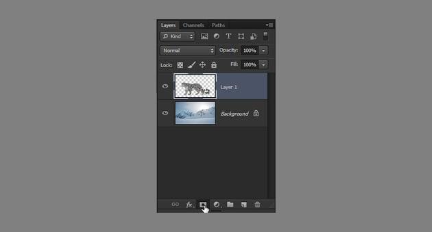 photoshop layer mask add