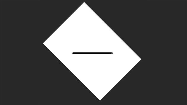 draw a straight line