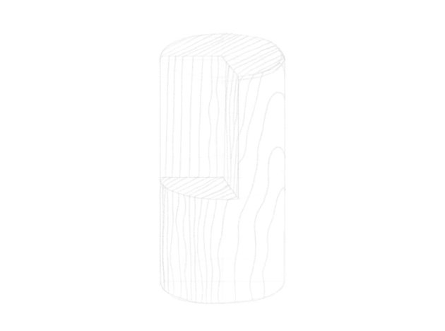how to sketch woodgrain lines
