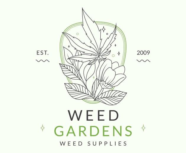 Artistic Marijuana Logo