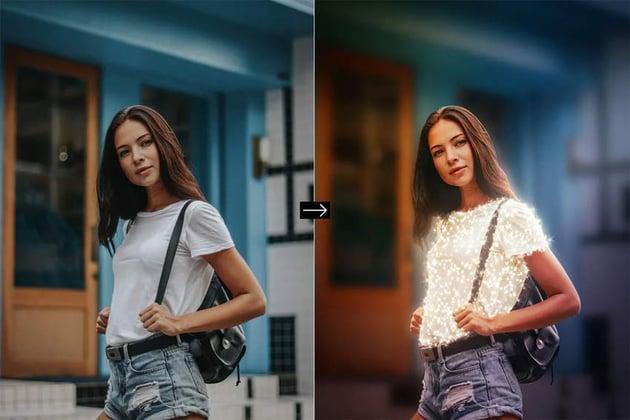 Animated Sparkles Photoshop Action