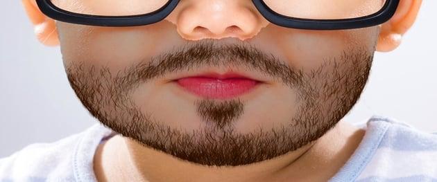 make beard darker