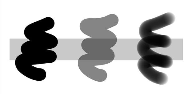 opacity vs flow
