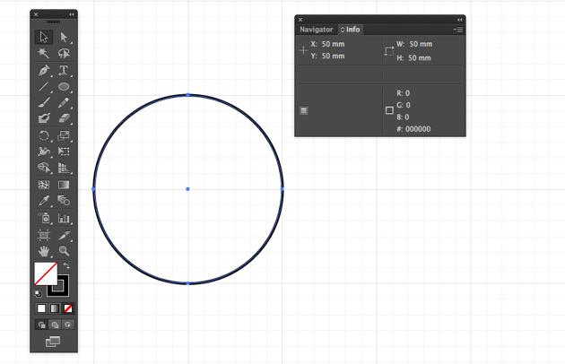 ellipse tool draw pattern tile fill none stroke black option shift constrain circle subdivision 50mm eid greeting