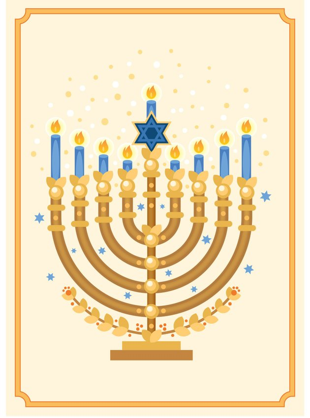 Final Menorah Hanukkah car by Miss Chatz