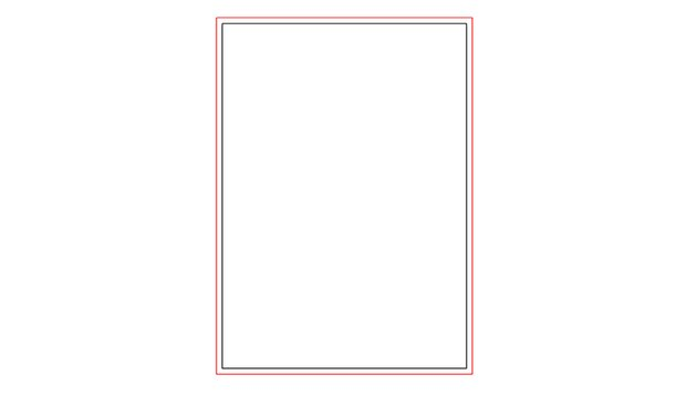 set artboard bleed lines for printing bleed lines in red