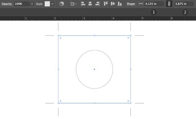 set crop marks to square shape align center illustrator beer label