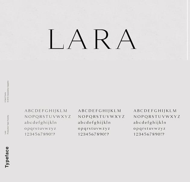 lara otf serif font similar to Georgia font family georgia