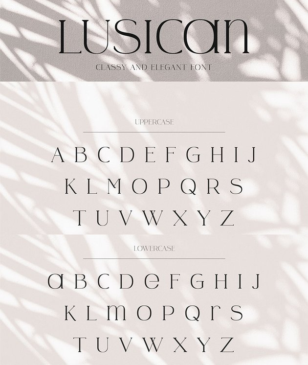 lusicant sans serif font modern alternative to Copperplate