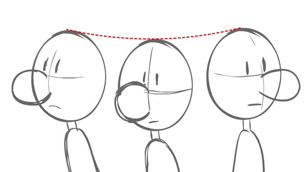 head turn with arc