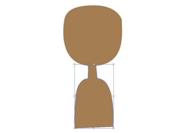 Use the Pen Tool to create the body