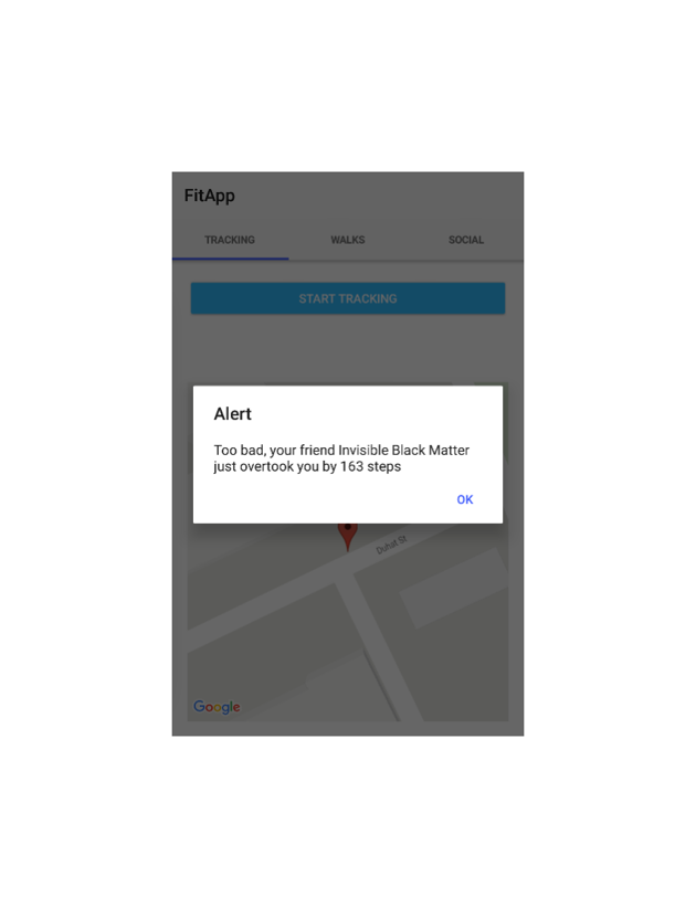 push notification received