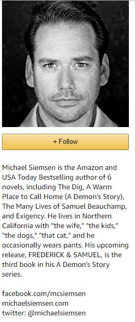 Short bio author