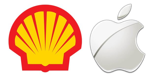 brandmarks shell apple