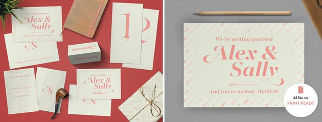 Typography cards