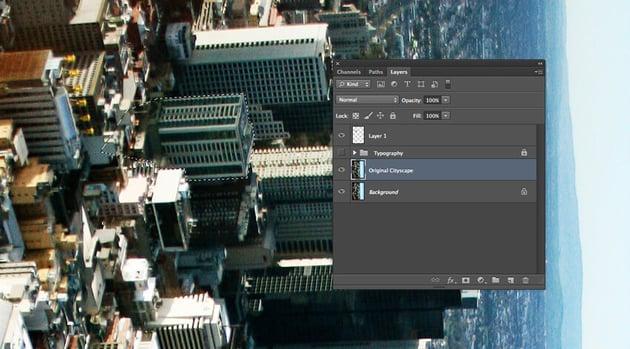 original cityscape layer