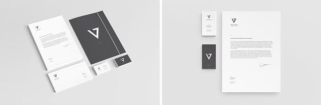 minimal stationery
