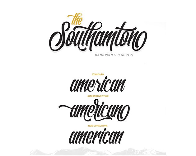 southampton typeface