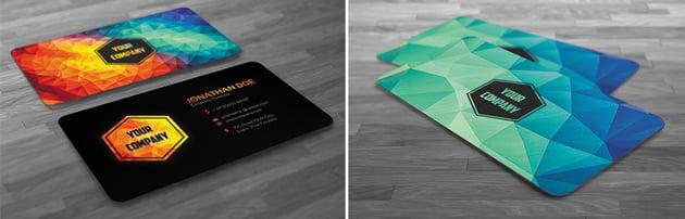 polygon business card