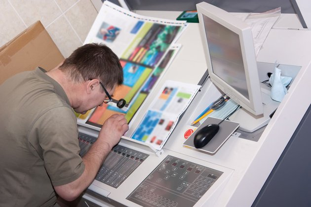 offset printing checking proof