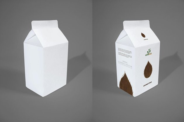 coconut milk carton
