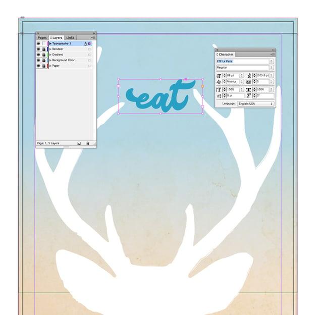 eat text frame