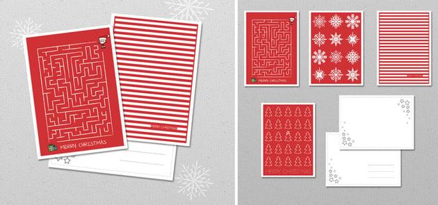 maze cards