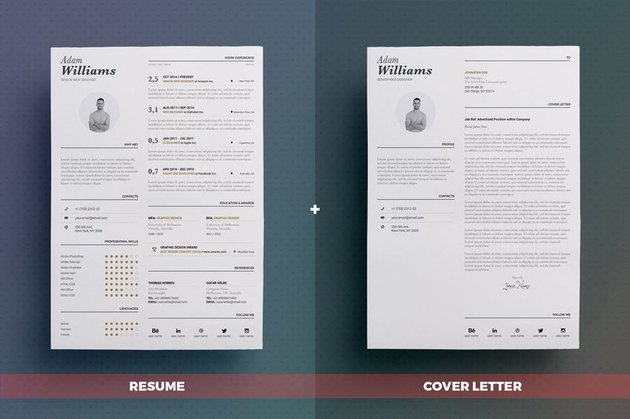 typographic cv