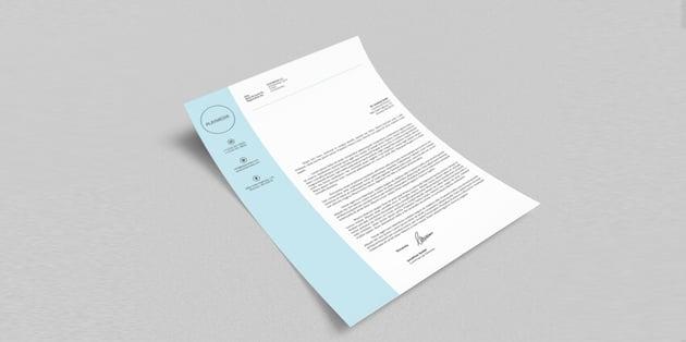 spine letter