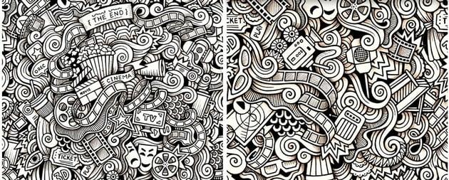cinema doodles