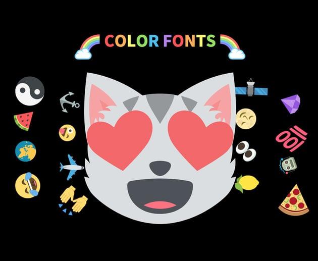adobe color fonts