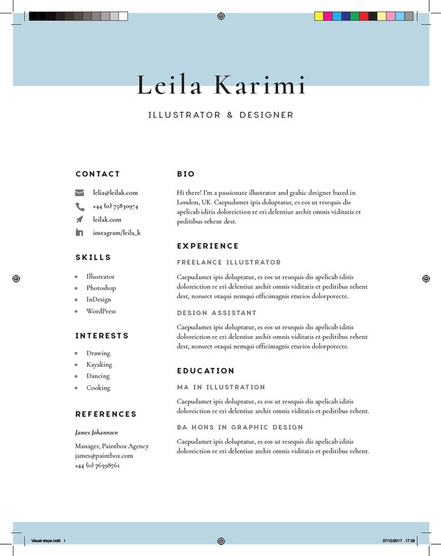 exported resume