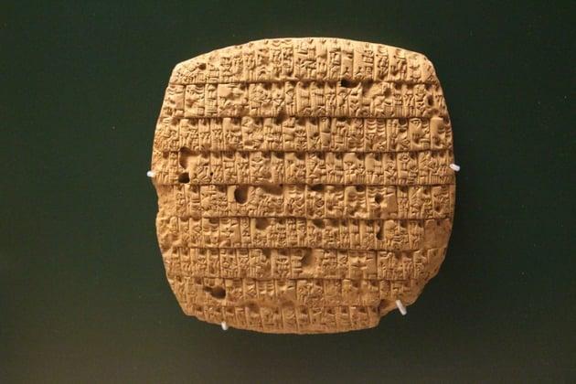 mesopotamia tablet