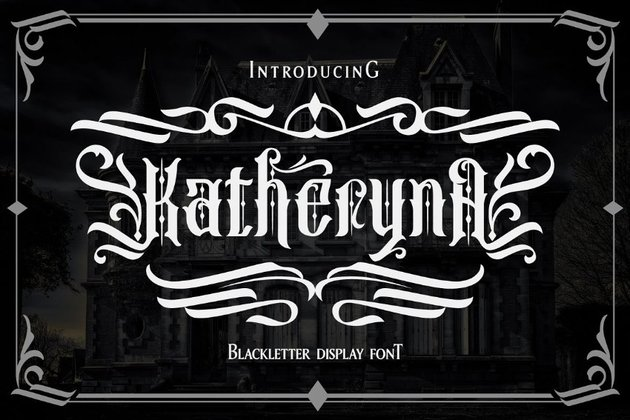 katheryna gothic font